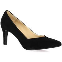 Chaussures Femme Escarpins So Send Escarpins cuir velours Noir