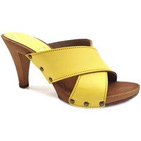 Chaussures Femme Mules My Clogs MY362 Jaune