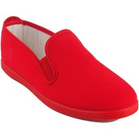 Chaussures Femme Baskets basses Bienve Toile Lady  102 rouge Rouge