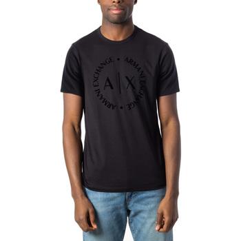 Vêtements Homme T-shirts manches courtes EAX 8NZTCD Z8H4Z Noir