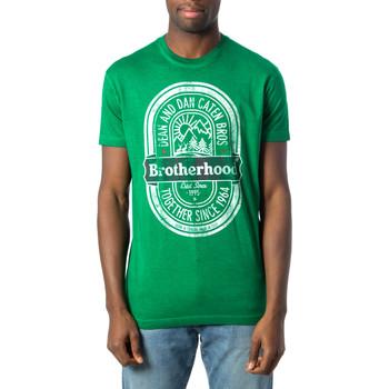 Vêtements Homme T-shirts manches courtes Dsquared S71GD0577 vert