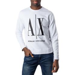 Vêtements Homme Sweats EAX 8NZMPA ZJ1ZZ Blanc
