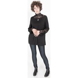 Vêtements Femme Tops / Blouses Yours-Paris MYA NOIR