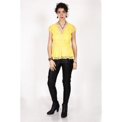 Vêtements Femme Tops / Blouses Yours-Paris ZO?TZA JAUNE