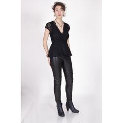 Vêtements Femme Tops / Blouses Yours-Paris ZO?TZA NOIR
