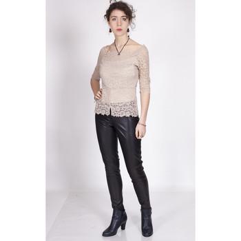 Vêtements Femme Tops / Blouses Yours-Paris IRIS BEIGE
