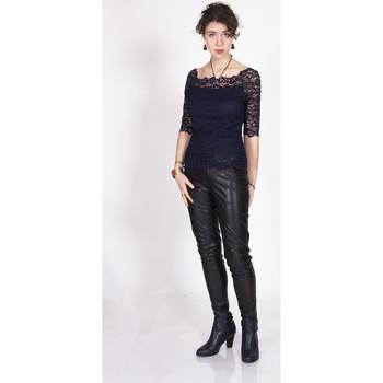 Vêtements Femme Tops / Blouses Yours-Paris IRIS MARINE