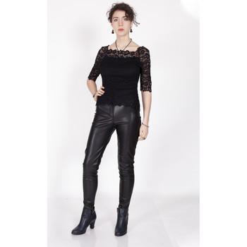 Vêtements Femme Tops / Blouses Yours-Paris IRIS NOIR