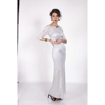 Vêtements Femme Robes longues Yours-Paris PINKFEUR ARGENT