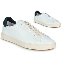 Chaussures Homme Baskets basses Claé BRADLEY Blanc / Bleu