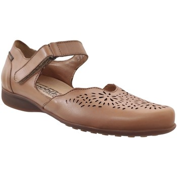 Chaussures Femme Ballerines / babies Mobils By Mephisto Florina perf Marron clair cuir