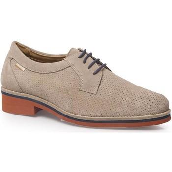 Chaussures Homme Derbies Calzamedi CHAUSSURES  AVEC CORDON CONFORTABLE H BEIGE