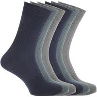 Accessoires Homme Chaussettes Floso  Bleu marine/Bleu/Gris