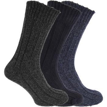 Accessoires Homme Chaussettes Universal Textiles  Bleu marine/Gris/Bleu
