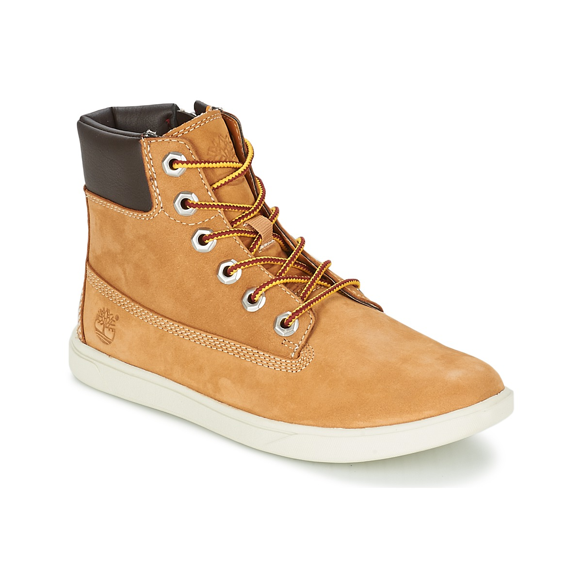 Timberland GROVETON 6IN LACE WITH SIDE ZIP Blé