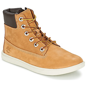 Bottines / Boots Timberland GROVETON 6IN LACE WITH SIDE ZIP Blé 350x350