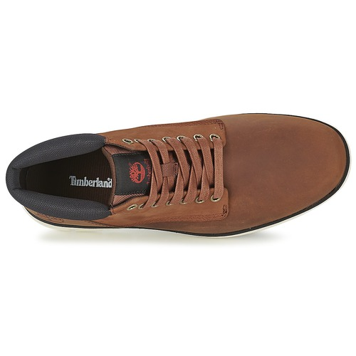Timberland Montantes Chukka Baskets Homme Bradstreet Leather Marron TclF1JK3