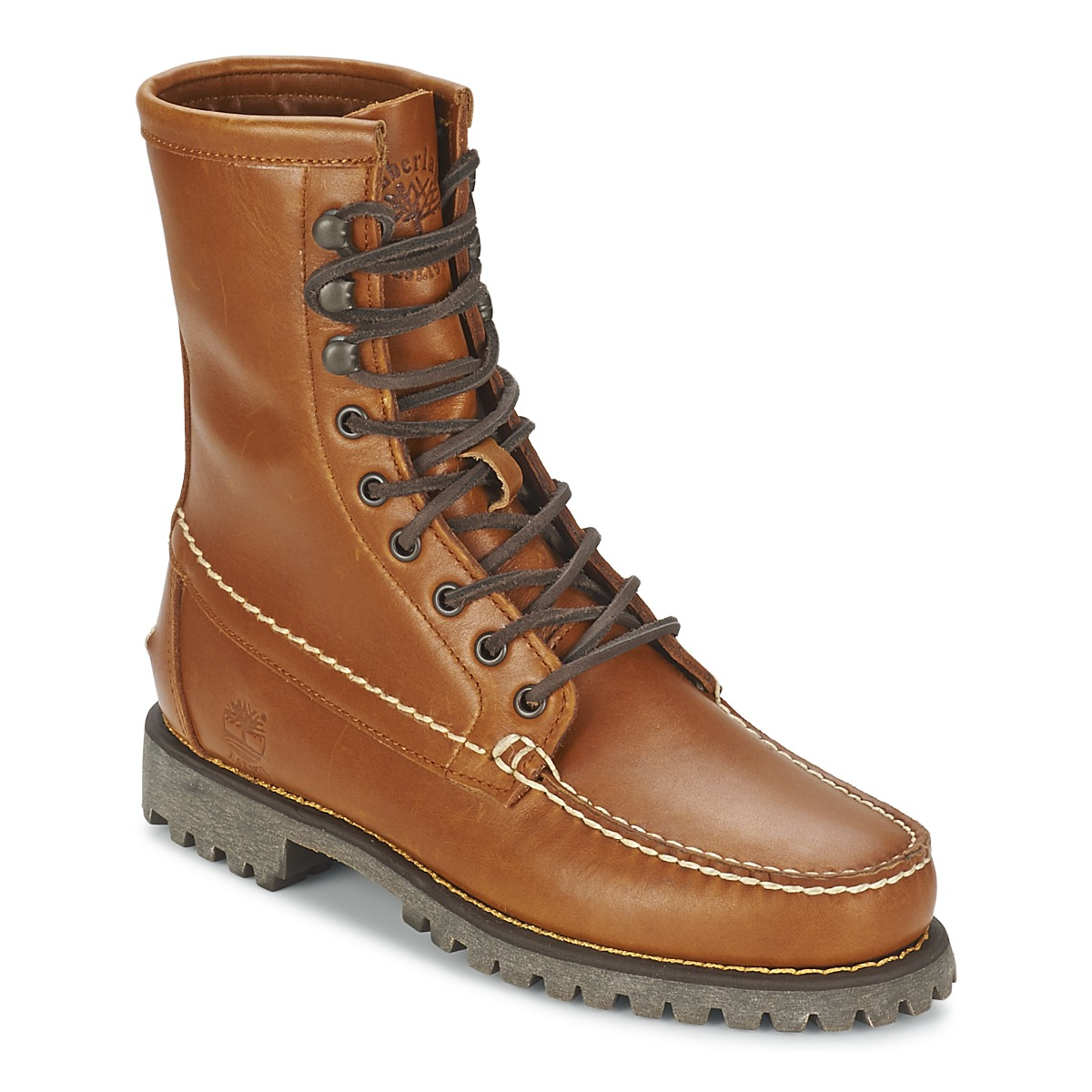 Timberland AUTHENTICS 8 IN RUGGED HANDSEWN Terre cuite