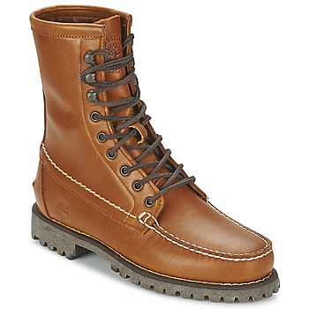 Bottines / Boots Timberland AUTHENTICS 8 IN RUGGED HANDSEWN Terre cuite 350x350