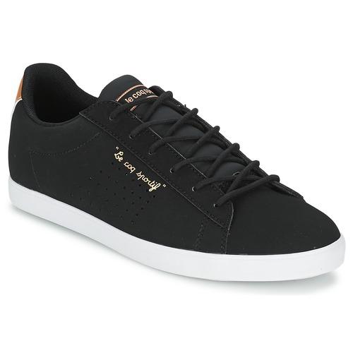 Chaussures Femme Baskets basses Le Coq Sportif AGATE LO Noir