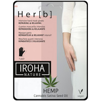 Beauté Femme Soins mains et pieds Iroha Nature Cannabis Hand & Nail Mask Glove Repairing & Relaxing 1 pair