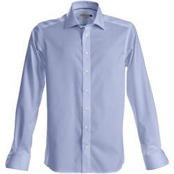 Vêtements Homme Chemises manches longues J Harvest & Frost Green Bow Bleu ciel