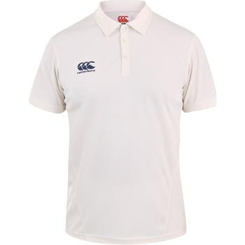 Vêtements Enfant Polos manches courtes Canterbury CN155B Blanc cassé