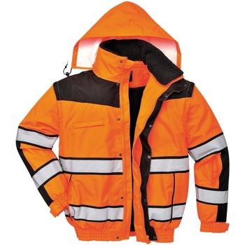 Vêtements Homme Blousons Portwest PW332 Orange/Noir