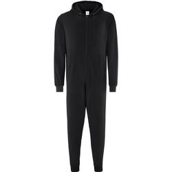 Vêtements Pyjamas / Chemises de nuit Comfy Co CC003 Noir