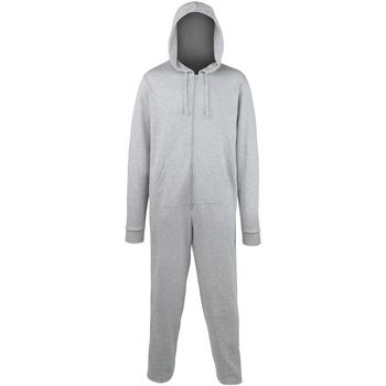 Vêtements Pyjamas / Chemises de nuit Comfy Co CC001 Gris cendre