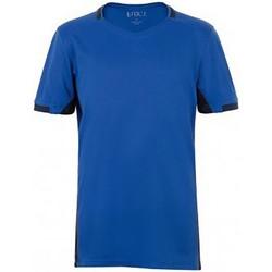 Vêtements Enfant T-shirts manches courtes Sols 01719 Bleu roi/Bleu marine