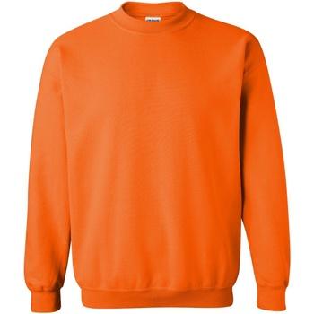 Vêtements Sweats Gildan 18000 Orange fluo
