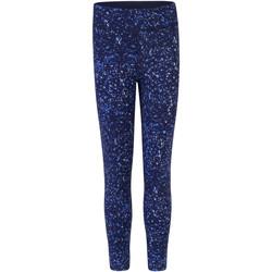 Vêtements Fille Leggings Skinni Fit SM424 Bleu marine/Bulles