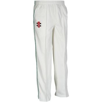 Vêtements Enfant Pantalons de survêtement Gray-Nicolls  Ivoire/Vert bouteille