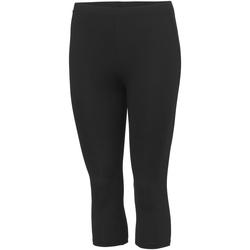 Vêtements Fille Pantalons de survêtement Awdis JC86J Noir