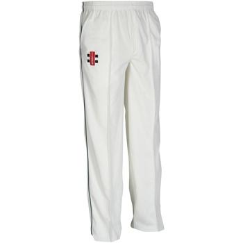 Vêtements Enfant Pantalons de survêtement Gray-Nicolls GN10J Ivoire/Bleu marine