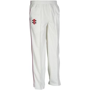 Vêtements Enfant Pantalons de survêtement Gray-Nicolls GN10J Ivoire/Marron
