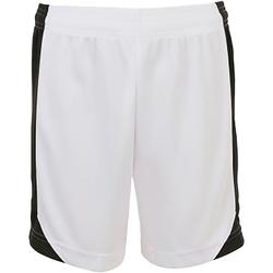 Vêtements Shorts / Bermudas Sols 01720 Blanc/Noir