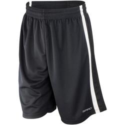 Vêtements Homme Shorts / Bermudas Spiro S279M Noir/Blanc