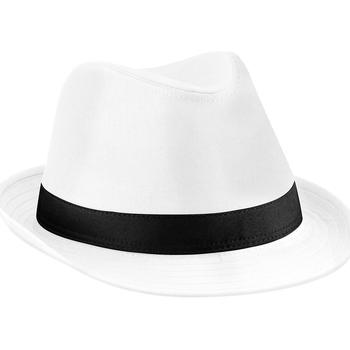 Accessoires textile Chapeaux Beechfield B630 Blanc/Noir