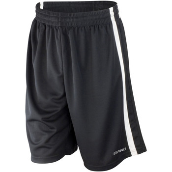 Vêtements Homme Shorts / Bermudas Spiro S279M Blanc/Noir