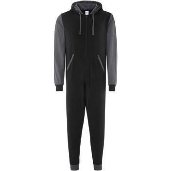 Vêtements Combinaisons / Salopettes Comfy Co CC003 Noir/Gris foncé