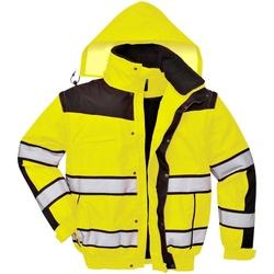 Vêtements Homme Coupes vent Portwest PW332 Jaune/Noir