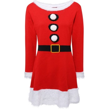 Vêtements Femme Robes courtes Christmas Shop CS039 Rouge
