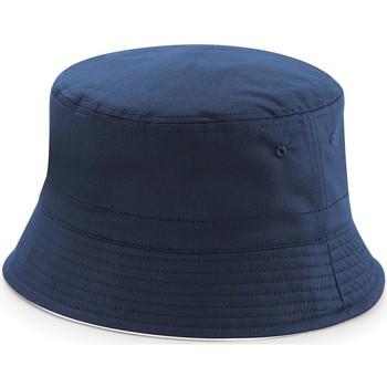 Accessoires textile Chapeaux Beechfield B686 Bleu marine/Blanc