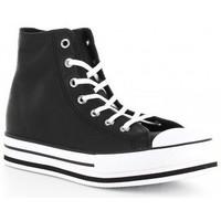 Chaussures Fille Baskets montantes Converse CTAS PLATFORM EVA HI 666391C negro Noir