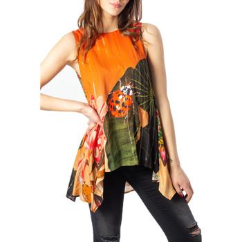 Vêtements Femme Tuniques Desigual 20SWBW56 Marron
