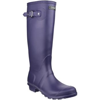 Chaussures Bottes de pluie Cotswold  Violet