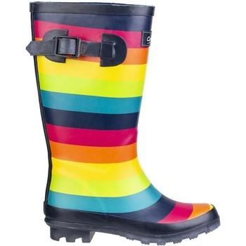 Chaussures Enfant Bottes de pluie Cotswold  Multicolore