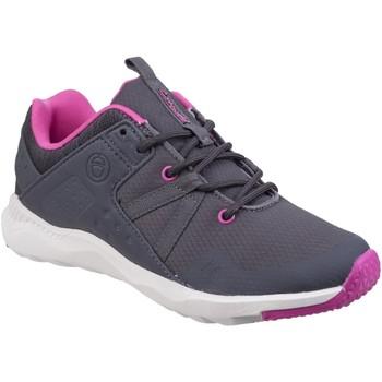 Chaussures Femme Baskets basses Cotswold  Gris / fuchsia / blanc